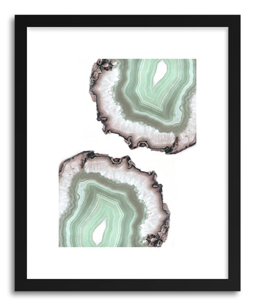 Fine art print Light Water Agate by artist Emanuela Carratoni
