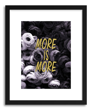 Fine art print More Is More by artist Emanuela Carratoni