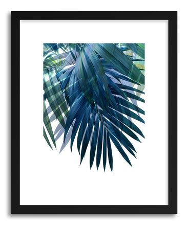 Fine art print Palm Leaves by artist Emanuela Carratoni