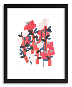 Fine art print Poppy 2nd by artist Rebekka Connelly