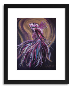 Fine art print Betta Fish by artist Joanne Kim
