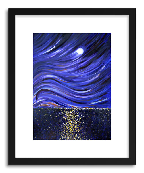 Fine art print Moonlit Bay by artist Joanne Kim