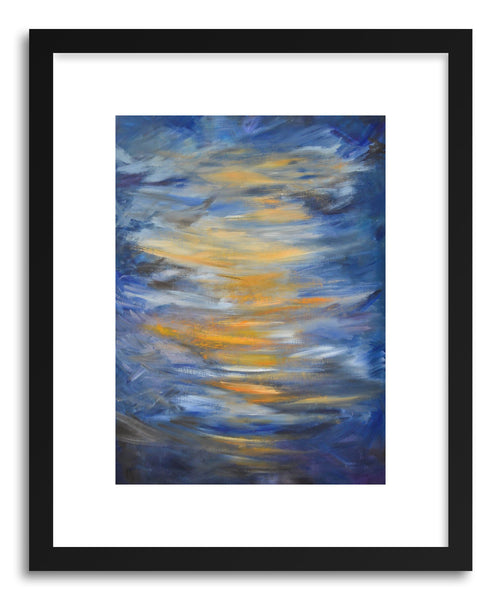Fine art print Orange Sunrise by artist Joanne Kim