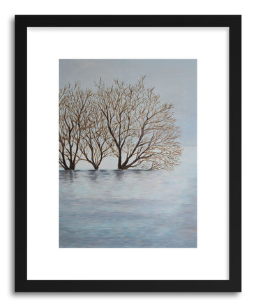 Fine art print Trees In Fog by artist Joanne Kim