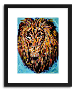 hide - Art print Leo by artist Joanne Kim on fine art paper