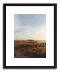 Fine art print Lone Morning Bus by artist Kevin Russ