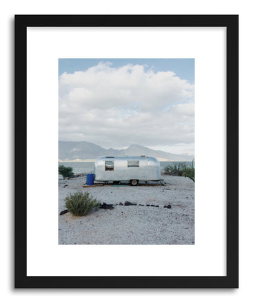 Fine art print Mexico Seaside Trailer Life by artist Kevin Russ