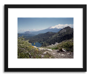 hide - Art print Mt Shasta by artist Kevin Russ on fine art paper