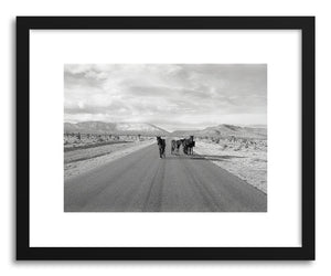 hide - Art print Nevada Wild Horses by artist Kevin Russ on fine art paper