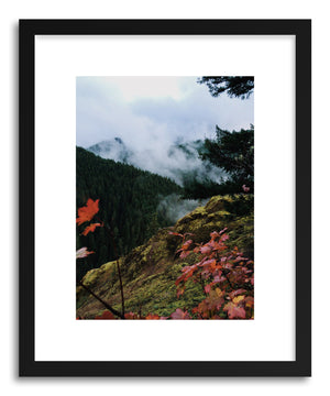 Fine art print Oregon Fall by artist Kevin Russ in Black frame