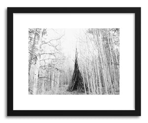 hide - Art print Teepee by artist Kevin Russ on fine art paper
