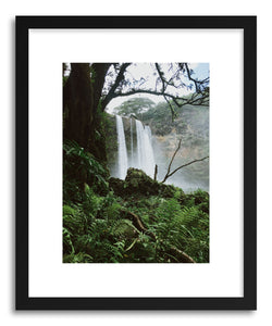 hide - Art print Tropical Island Falls by artist Kevin Russ on fine art paper
