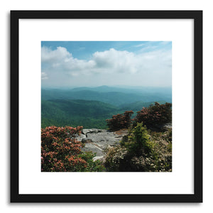 hide - Art print Appalachia by artist Kevin Russ in natural wood frame