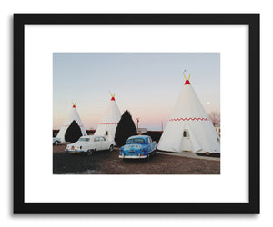 hide - Art print Wigwam Motel by artist Kevin Russ on fine art paper
