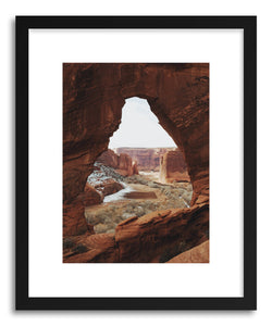 Fine art print Arizona Window Rock by artist Kevin Russ