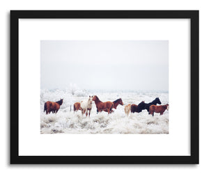 Fine art print Winter Horseland by artist Kevin Russ