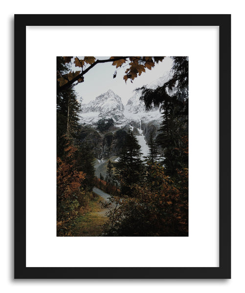 Fine art print Autum Mountain Road by artist Kevin Russ