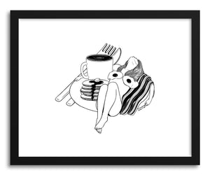 Fine art print Big Breakfast by artist Henn Kim