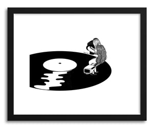 Fine art print Don't Just Listen Feel It by artist Henn Kim