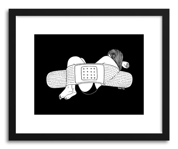 Fine art print Everybody Hurts by artist Henn Kim