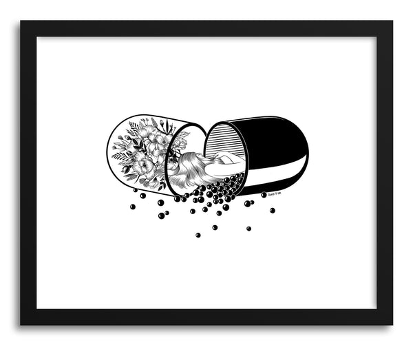 Fine art print Sleep Forever by artist Henn Kim