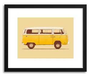 Fine art print Yellow Van by artist Florent Bodart