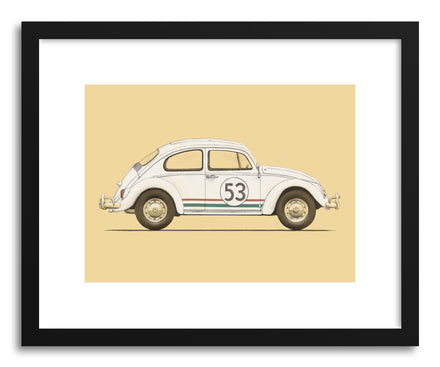 Fine art print Beetle by artist Florent Bodart
