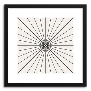 hide - Art print Big Brother Main by artist Florent Bodart in white frame