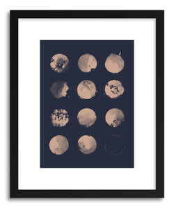 Fine art print 12 Moons by artist Florent Bodart