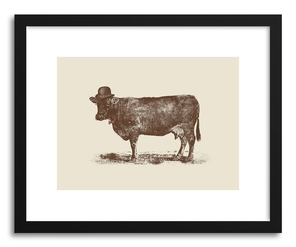 Fine art print Cow Cow Nut by artist Florent Bodart