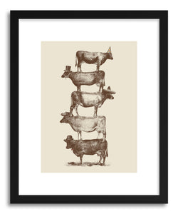 Fine art print Cow Cow Nuts BIG by artist Florent Bodart