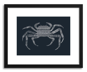 Fine art print Crab Blue by artist Florent Bodart