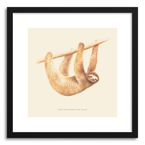 Fine art print CSS Animals Sloth by artist Florent Bodart