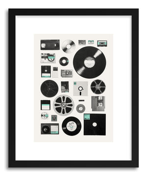 Fine art print Data UNI by artist Florent Bodart