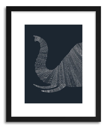 Fine art print Elephant Blue by artist Florent Bodart