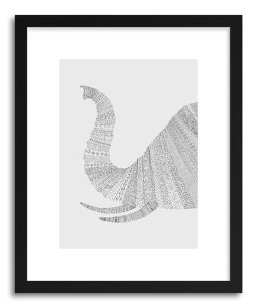 Fine art print Elephant Grey by artist Florent Bodart