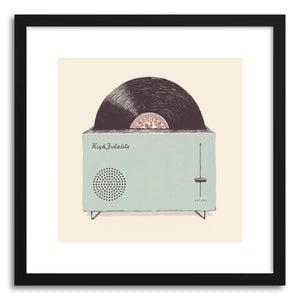 Fine art print High Fidelity by artist Florent Bodart