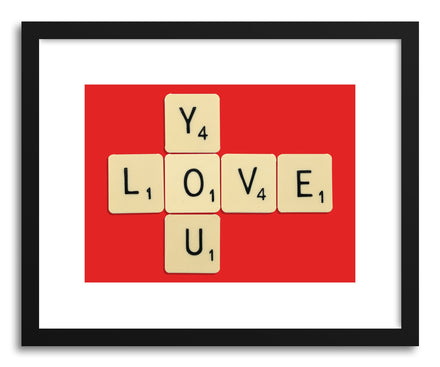 Fine art print Love You Bodart by artist Florent Bodart
