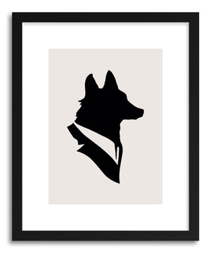 Fine art print Monsieur Renard by artist Florent Bodart