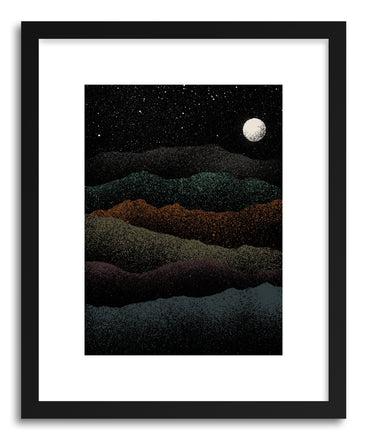 Fine art print Mountains Beyond Mountains by artist Florent Bodart