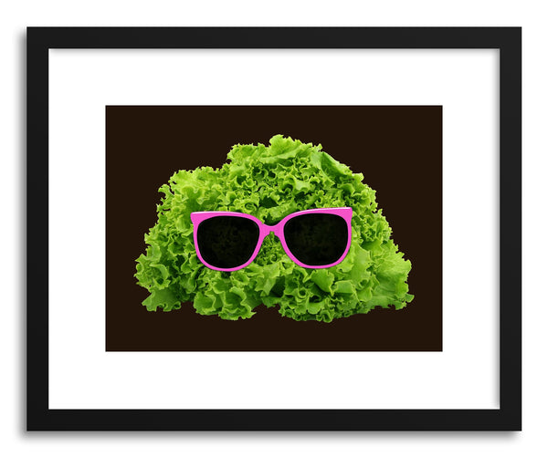 Fine art print Mr Salad by artist Florent Bodart