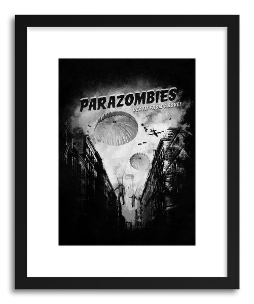 Fine art print Parazombies by artist Florent Bodart