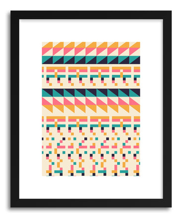 Fine art print Pattern No.1 by artist Florent Bodart