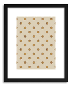 hide - Art print Polcats by artist Florent Bodart in natural wood frame