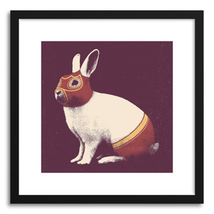Fine art print Rabbit Wrestler by artist Florent Bodart