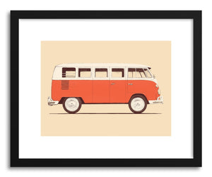 hide - Art print Redvan by artist Florent Bodart on fine art paper