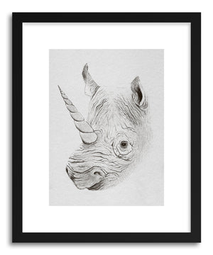 Fine art print Rhinoplasty by artist Florent Bodart