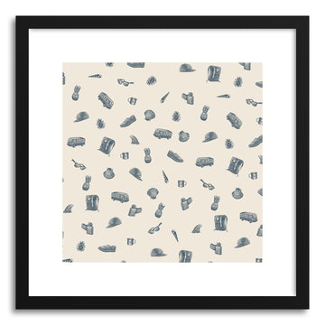 Fine art print Surlaplage No.2 by artist Florent Bodart