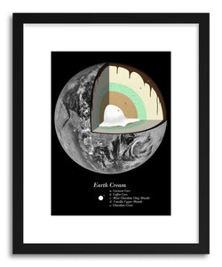 Fine art print Sweet Earth by artist Florent Bodart