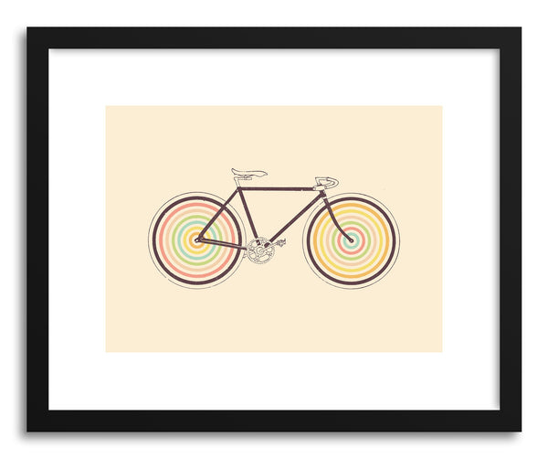 Fine art print Velocolor by artist Florent Bodart